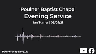 Evening Service 5th September | Ian Turner