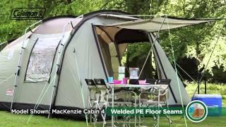Coleman® Mackenzie™ Cabin 6 - Premium Family Camping Tent