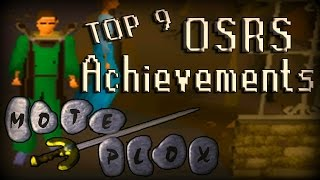 Top 9 Oldschool RuneScape Achievements