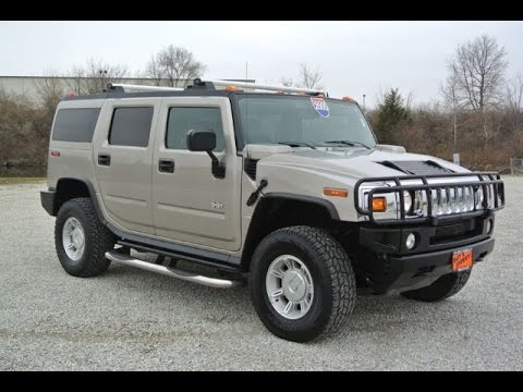 2005 hummer h2 suv for sale dayton troy piqua sidney ohio 27134at youtube. Black Bedroom Furniture Sets. Home Design Ideas