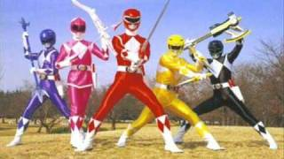 mighty morphin power rangers theme intro long instrumental version