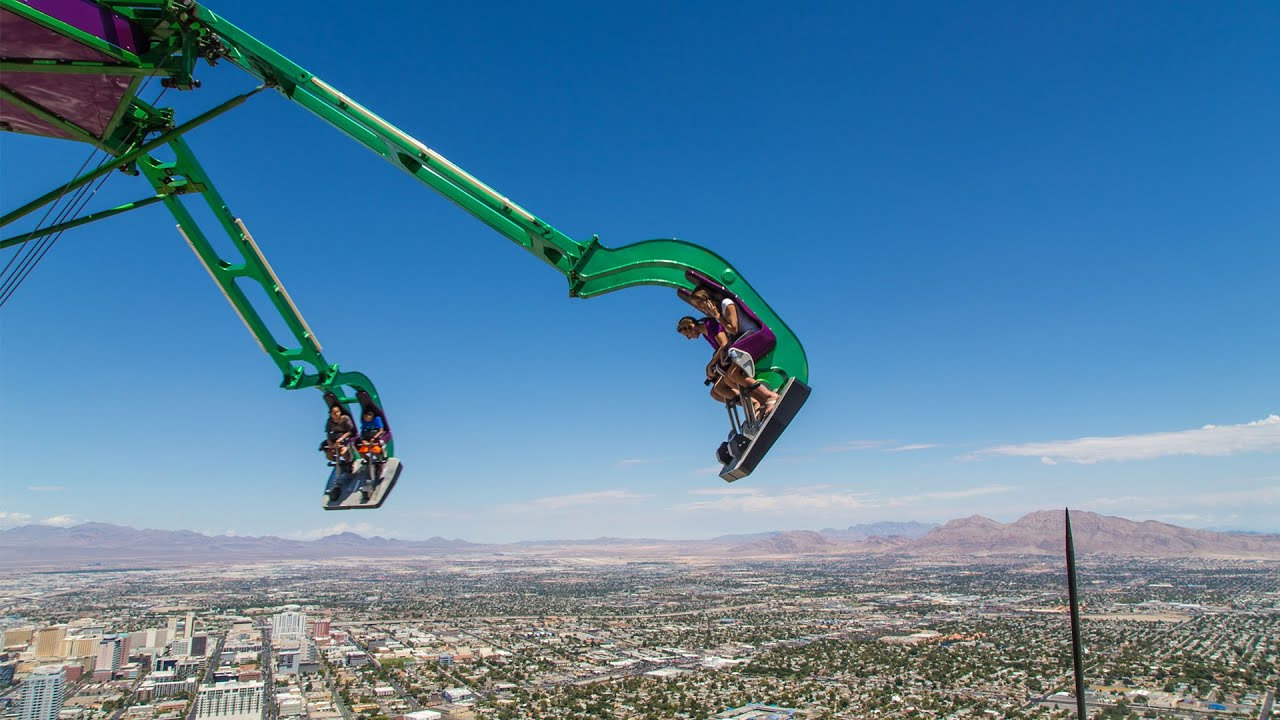 Thrill Rides In Las Vegas Flying The Nest