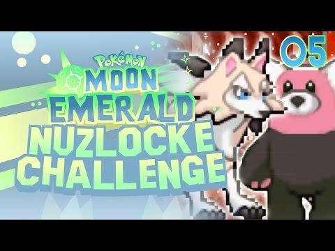 Pokemon Moon Emerald Nuzlocke GBA Rom Hack Part 5 - EVOLUTIONS!