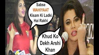 Arshi Khan ANGRY Comments On Rakhi Sawant
