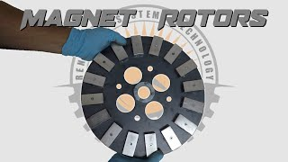 Making Wind Turbine Magnet Rotors