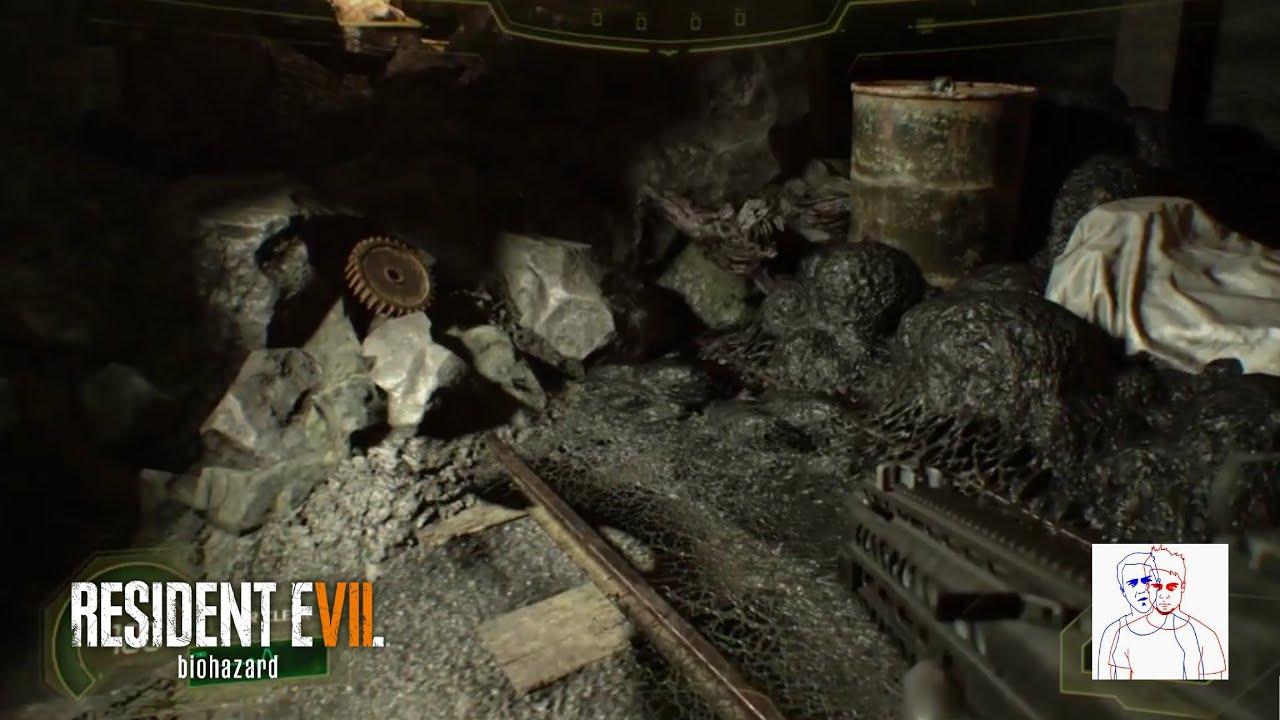 Resident Evil 7 Biohazard 4 Legged Molded Glitch On Not A Hero