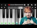 Download Ed Sheeran - Shape Of You - Mobile Perfect Piano Tutorial MP3 song and Music Video