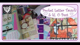 super süßes Päckchen & Pocket Letter Tausch
