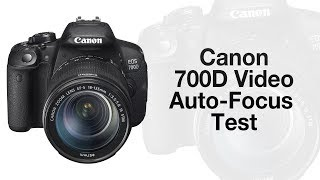 Canon 700D/T5i Video Auto-Focus Test with 18-135mm STM Lens(Canon 700D/T5i Video Auto-Focus Test Leave a like if you enjoyed the Video! 700D/T5i Unboxing: http://youtu.be/AG2Guyp1pYA Canon 700D UK: ..., 2013-11-26T19:59:09.000Z)