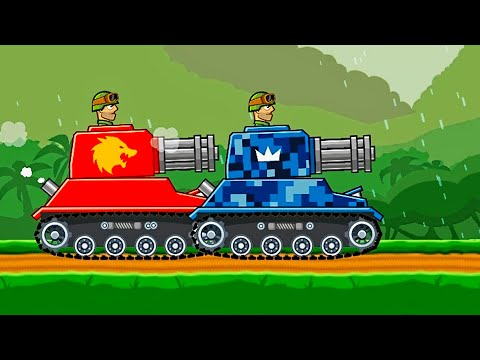 2 VS 2 TANK REAPER Hills of Steel / Video For Kids Mobile Game for Kids Android Gameplay 2019