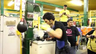 Sergio Martinez Vs Julio Cesar Chavez jr after fight