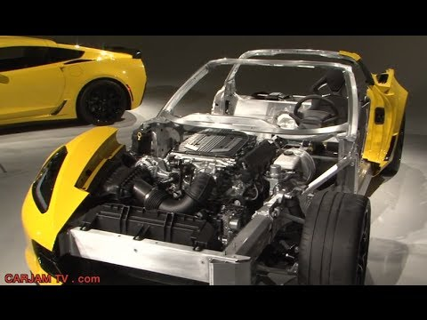 Chevrolet Corvette Z06 0 60 3 5 Seconds 2015 Cutaway