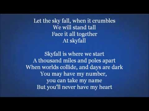 Skyfall (Adele song) - Wikipedia