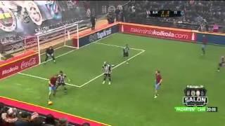 4 Büyüklerin Salon Turnuvası Beşiktaş - Trabzonspor 6 - 6 özeti ve Golleri