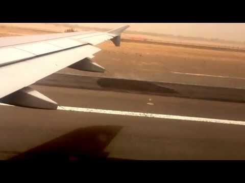 Air Arabia Flight Take Off from Sharjah International Airport iPhone 4s Video 1080HD