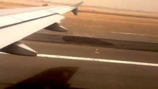 Air Arabia Flight Take Off from Sharjah International Airport iPhone 4s Video 1080HD