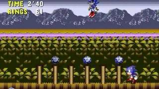 Sonic 1: Sonic CD Edition (Genesis) - Walkthrough