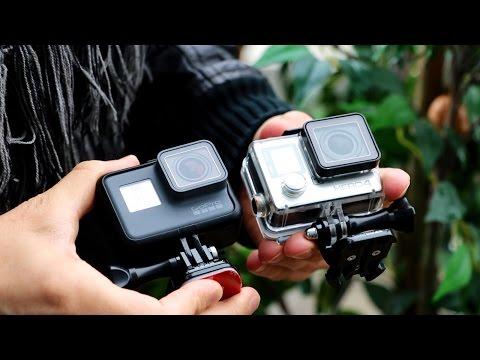 Полное сравнение GoPro Hero5 Black и GoPro Hero4 Black