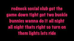 Dancin While Intoxicated (DWI) - Colt Ford Lyrics