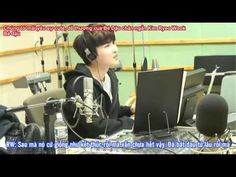 Vietsub 150123 Sukira Ryeowook Call out to BTOB Minhyuk CUT
