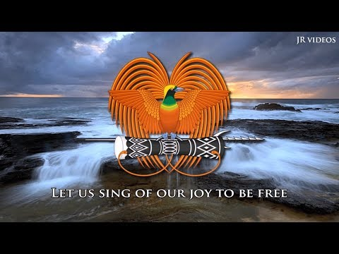 Anthem of Papua New Guinea (lyrics)