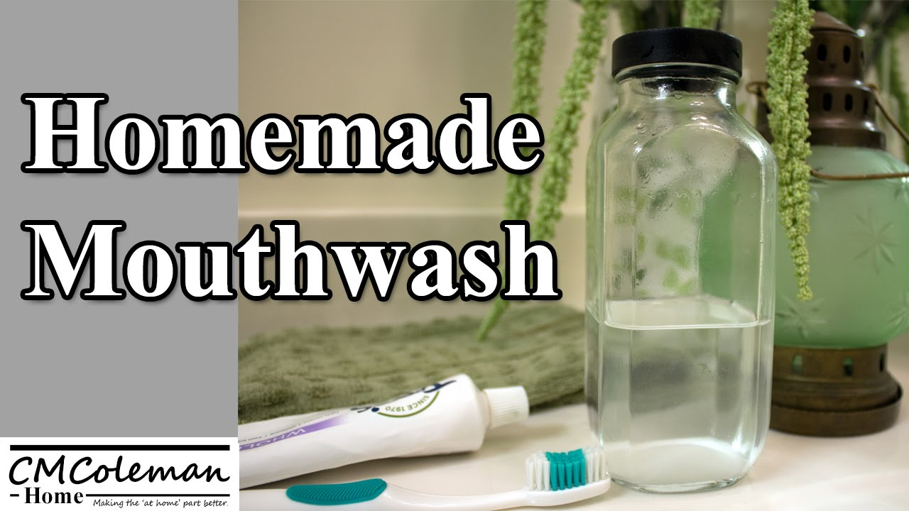 Make Your Own Mouthwash - YouTube