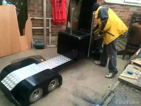 Build A Truck >> King hauler custom 1/4th scale rc truck - YouTube