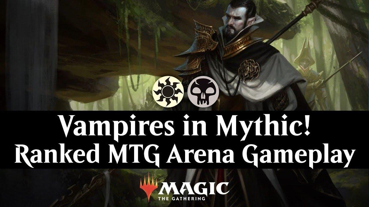 Vampires in Mythic! Ranked MTG Arena Gameplay