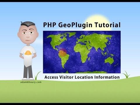 PHP GeoPlugin Tutorial Get User Location Information IP Detection