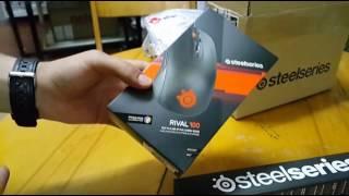 Steelseries Rival 100 kutu açılımı incelemesi (N11.com) mouse pad hediyeli