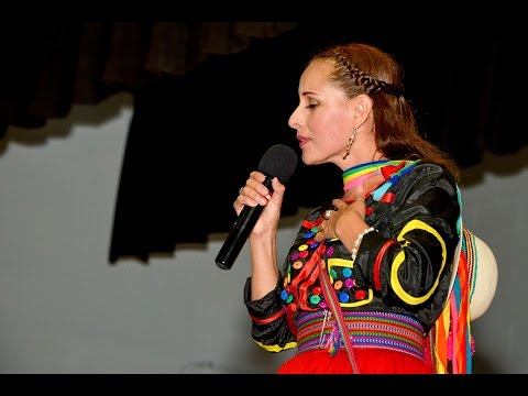 Nancy Manchego en New Jersey.  Huaynos peruanos 2015 - Paterson