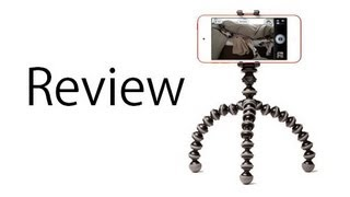 Review Of The JOBY GripTight GorillaPod Tripod Stand For Iphone Android & Mobile Devices