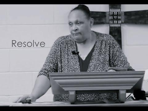 """Resolve"" Pastor Lillie White-Williams TBOTC"