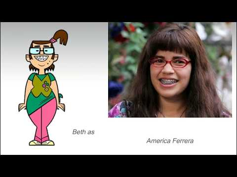 Total Drama Live Action Movie Cast (Real Life lookalikes)