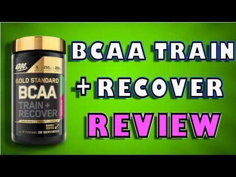 Gold Standard BCAA Train + Recovery By Optimum Nutrition Review