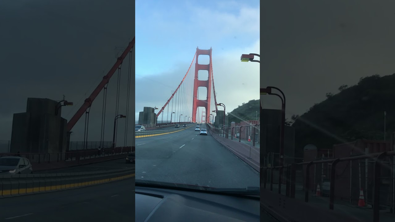 Crossing the Golden Gate Bridge never gets old.