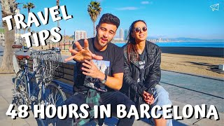 48 HOURS IN BARCELONA | 25 Things You Must Do! | Barcelona Travel Guide (Vlog 2/3)