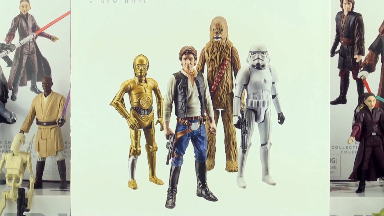 Star Wars Episode 4 A New Hope Limited Edition Action Toys Star Wars Collection Youtube