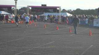 Young girl run over by male Bristol Myers Employee at breast cancer 5k
