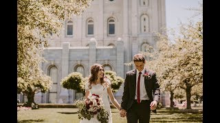 Anna + Trenton | Salt Lake Temple Wedding