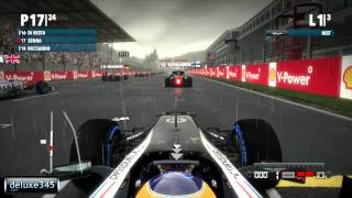 F1 2012 Video Game Gameplay (PC HD)