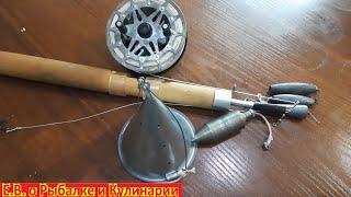 Супер нужная и универсальная снасть для зимней рыбалки.  Глубиномер, отцеп и кормушка все в одном.