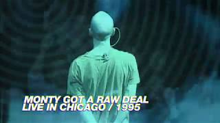 R.E.M. - Monty Got A Raw Deal (Live in Chicago / 1995 Monster Tour)