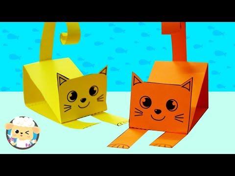 Origami Money Cat v2 (Jo Nakashima) - YouTube   360x480