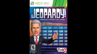 XBox 360 Jeopardy! 2nd Run Game #1