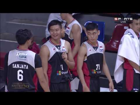 Perbasi Cup 2016 - Peringkat 5/6 - Stadium Happy 8 Jakarta vs Aspac Jakarta