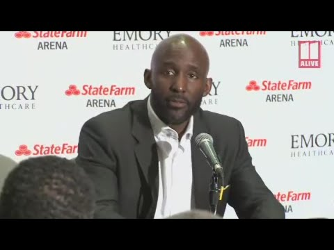 Atlanta Hawks coach Lloyd Pierce speaks on Chandler Parson's car accident
