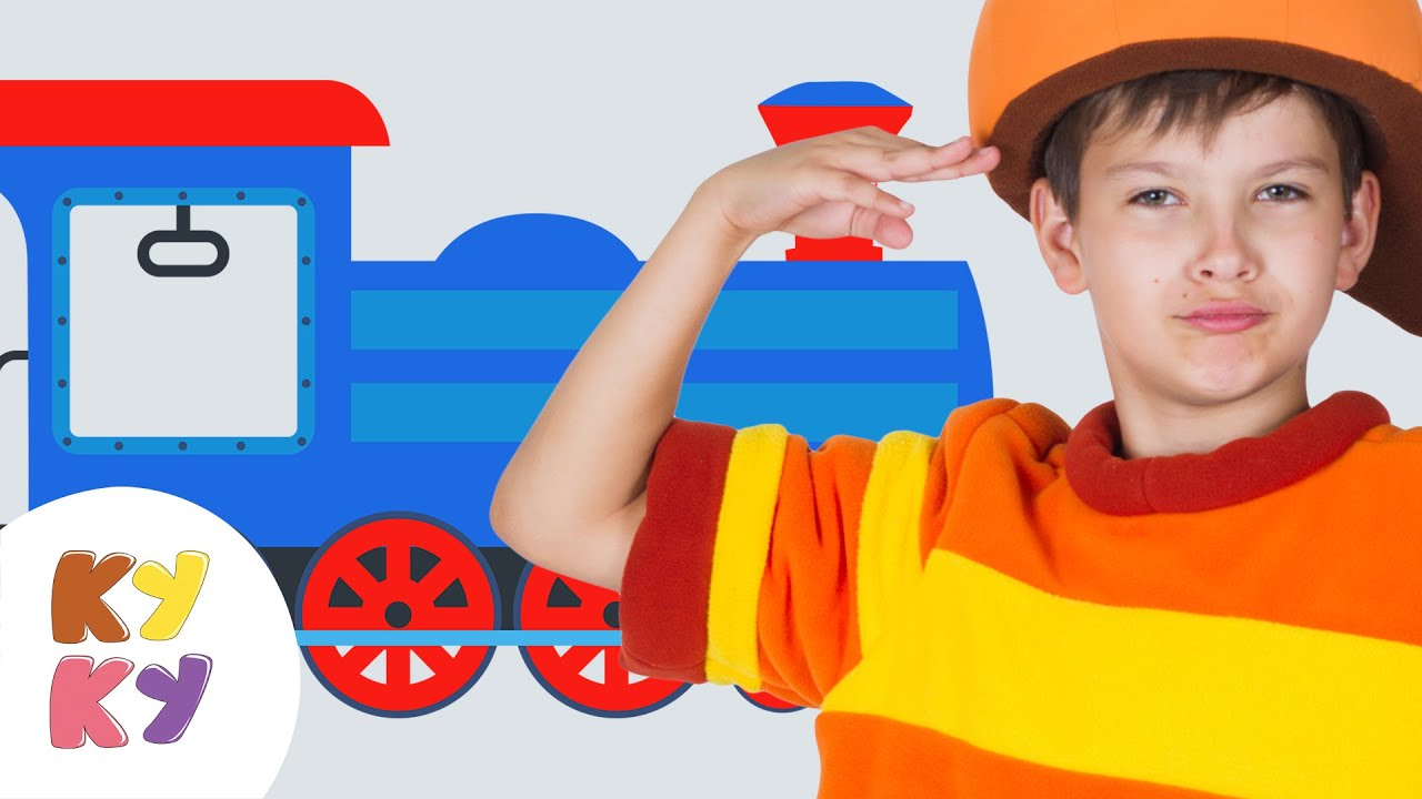 КУКУТИКИ - ПАРОВОЗИК развивающая песня мультик для детей про поезд ... 9572a25f7b8
