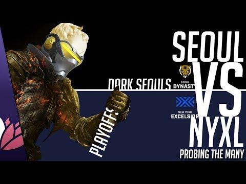 DARK SEOULS - NYXL vs Seoul (w/ Bonus Spitfire) - PRObing the Many