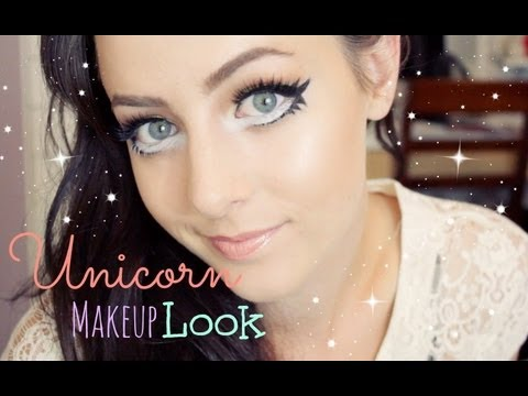 Unicorn Makeup Tutorial! | GettingPretty - YouTube